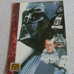 Star Wars Galaxy 1993 Topps #62 Villians The Art of Star Wars Trading card